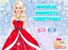 Magical Princess Christmas dress up game.