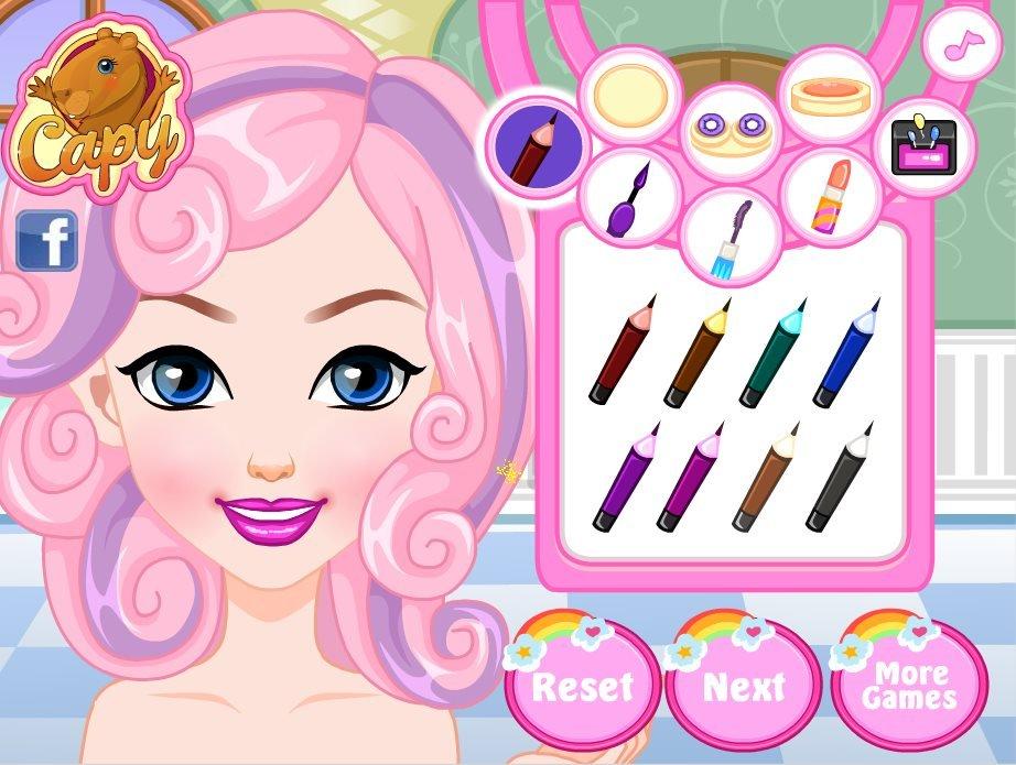 makeup games for little girls