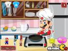 Mario cooking game for girls.