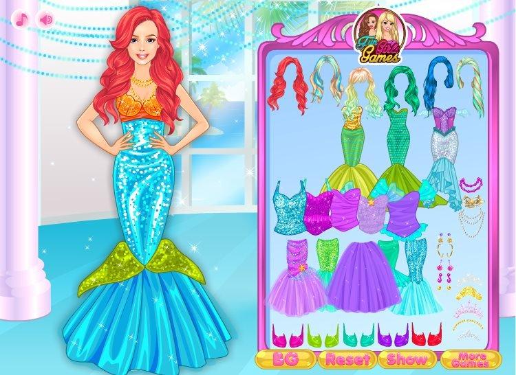 New dress for princess