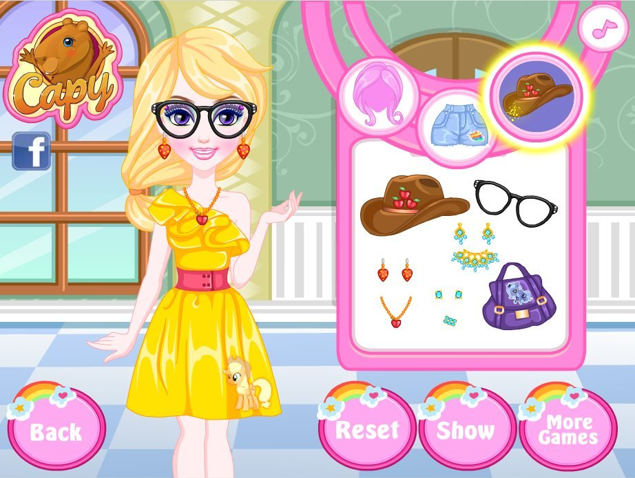 my little pony dress up games free