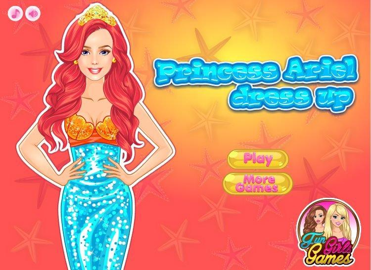 Disney Princess Ariel Wedding Dress Up Games 21