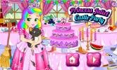 Princess Juliet Castle Party game.