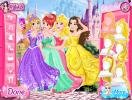 Select a best hairdro for each princesses.