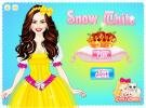 Snow White Dress Up Game.