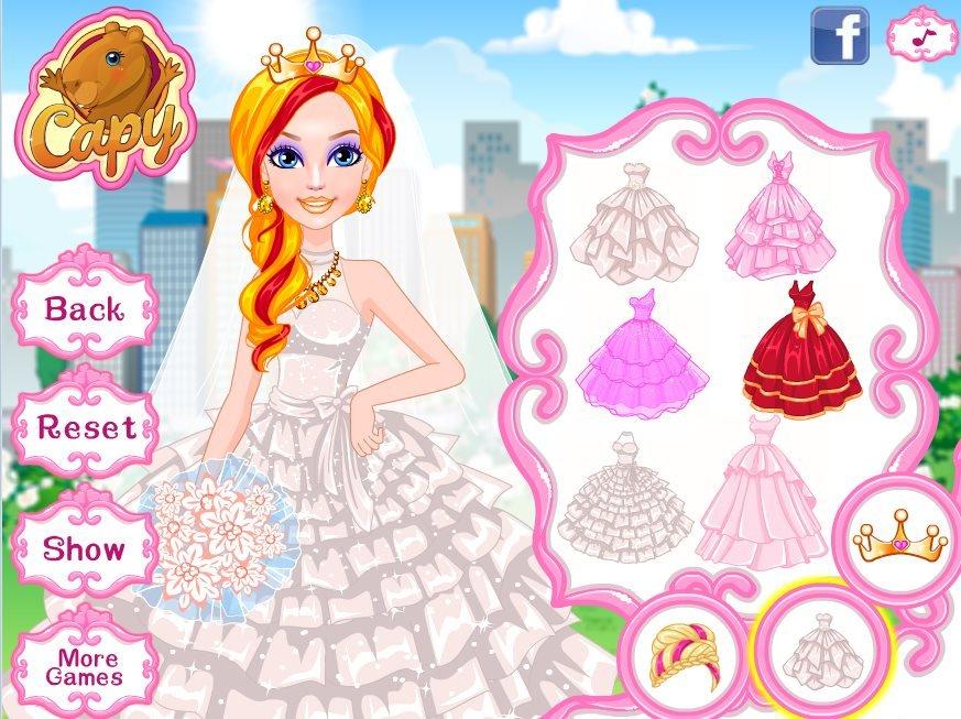 Super Barbie Wedding Game