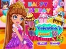 Vi and Va: Valentinas sweet 15 dress up game.
