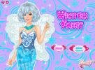Winter Fairy dress up game.