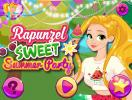 Rapunzel Sweet Summer Party game.