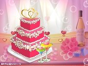 Fun game Bella's wedding cakes