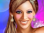 Fun game Make-up for Beyonce