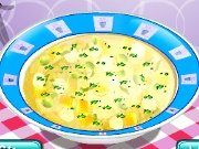 Cooking school: chicken soup game