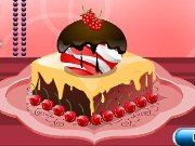 Fun game Chocolate cake