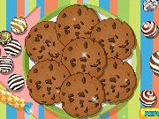 Fun game Chocolate cookies