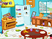 Fun game Clean Up Kitchen
