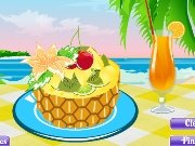 Game Decorate the fruit salad
