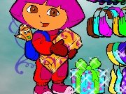 Dress Dora for the party game