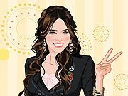 Dress Up Miley Cyrus game