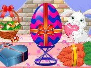 Easter egg decoration game