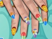Game Flower manicure