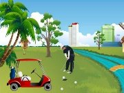 Golf course design game