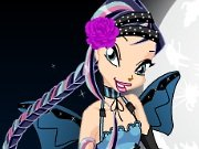 Halloween and the Winx Club game