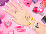 Hand decoration game