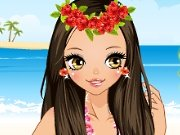 Hawaiian Dress up game