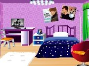 Justin Bieber fan's room game