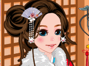 Fun game Kimono for the cutie