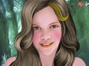 Georgie Henley Make up game