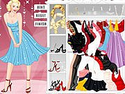Marilyn Monroe Dress Up game