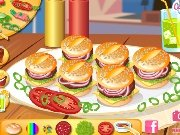 Mini hamburgers game