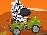 Safari and zebra game