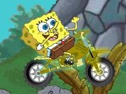 Sponge Bob on the motorbike game