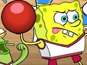 SpongeBob Battle with the balls game