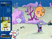 Game SpongeBob SquarePants anchovy assoult