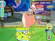 SpongeBob SquarePants Bikini Bottom Bust Up game