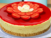 Cooking School: Strawberry Cheesecake game