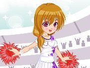 Stylish cheerleader game