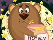 Fun game Sweet honey for a bear