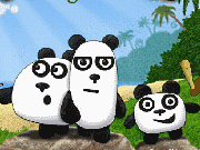 Three Pandas game