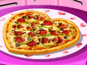Game Cooking school: Sarah's Valentine's Day Pizza
