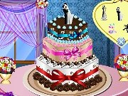 Game Wedding cake design
