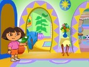 Welcome to Dora's house game