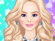 Magazine cover girl dress up game