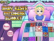 Baby Elsas Patchwork Blanket game