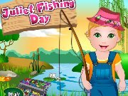 Baby Juliet fishing game