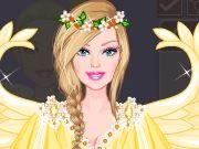 Fun game Barbie Angel Bride dress up