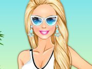 Barbie at beach game
